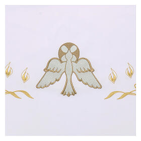 Altar Frontal 165x300cm Flames and Dove s2
