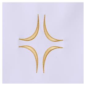 Tovaglia per altare 165x300 cm uva pane vino s4