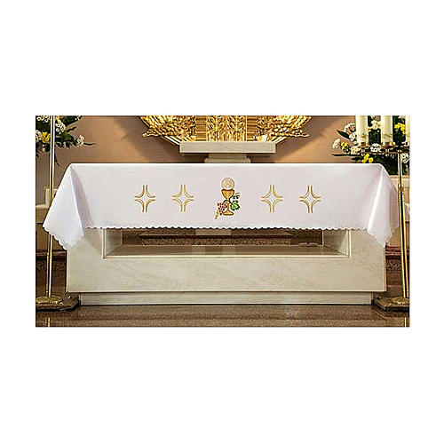 Altar Frontal 165x300cm Grapes Bread Wine 1