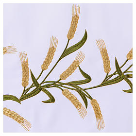 Altar Cloth 165x300cm Ears of Wheat, green & gold s4