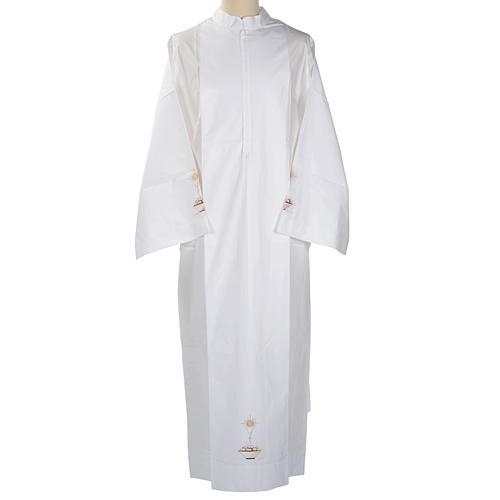 Camice bianco cotone calice pane 1