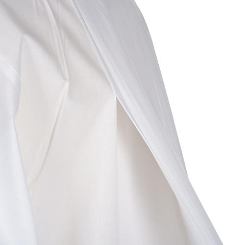 Camice bianco cotone calice uva 7
