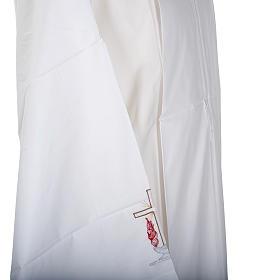 Camice bianco cotone croce e lampada s4
