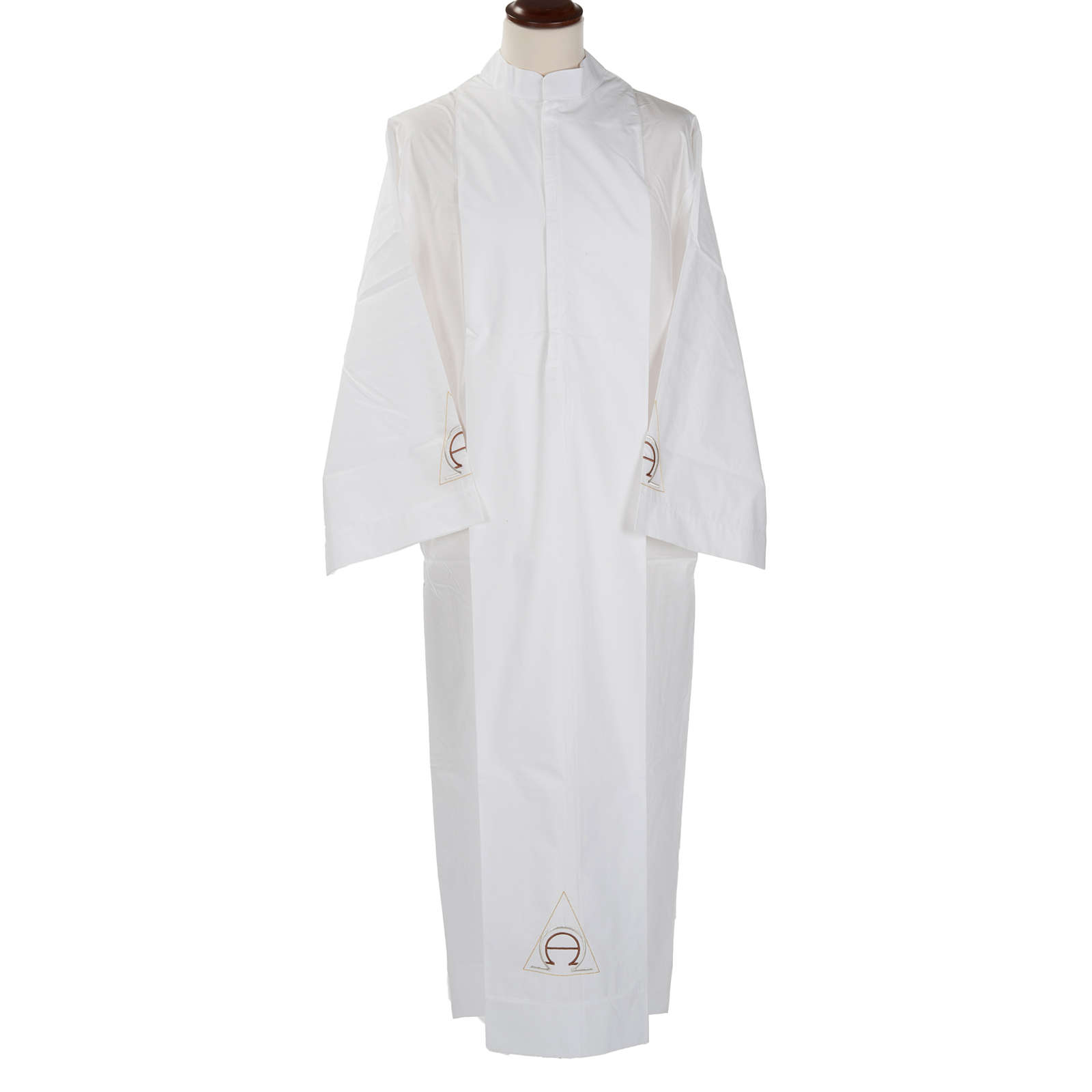 White alb wool alpha and omega 4