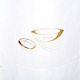 Camice bianco lana pani e pesci s2