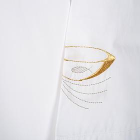 Camice bianco lana pani e pesci s3