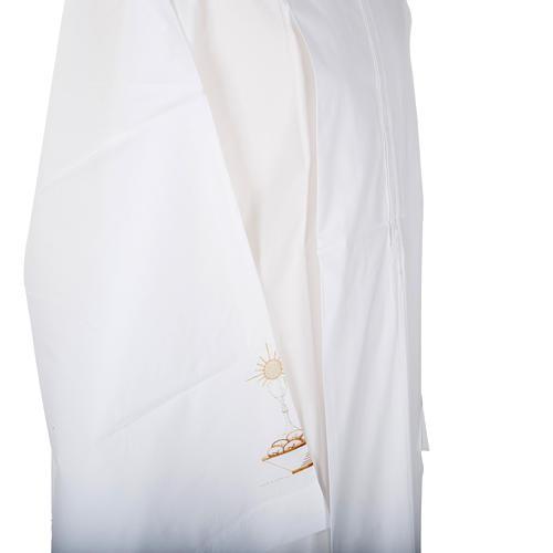 Camice bianco lana calice pane 3