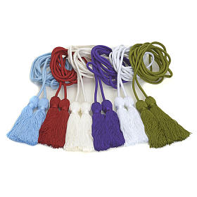 Cincture for alb in various colors s8