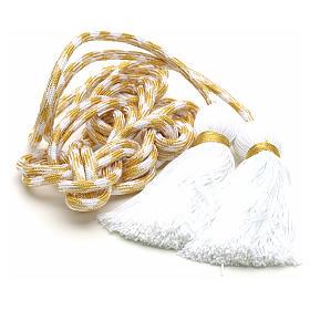 Cingulum kapłańskie złoty kolor s3