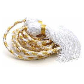 Cingulum kapłańskie złoty kolor s4
