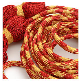 Alb cincture, red and gold color s2