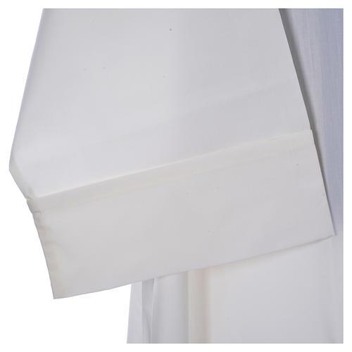 Camice avorio 65% pol. 35% cotone semplice cerniera davanti 4