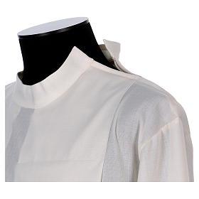 Camice avorio 55% poliestere 45% lana con doppio ritorto stoffa s3