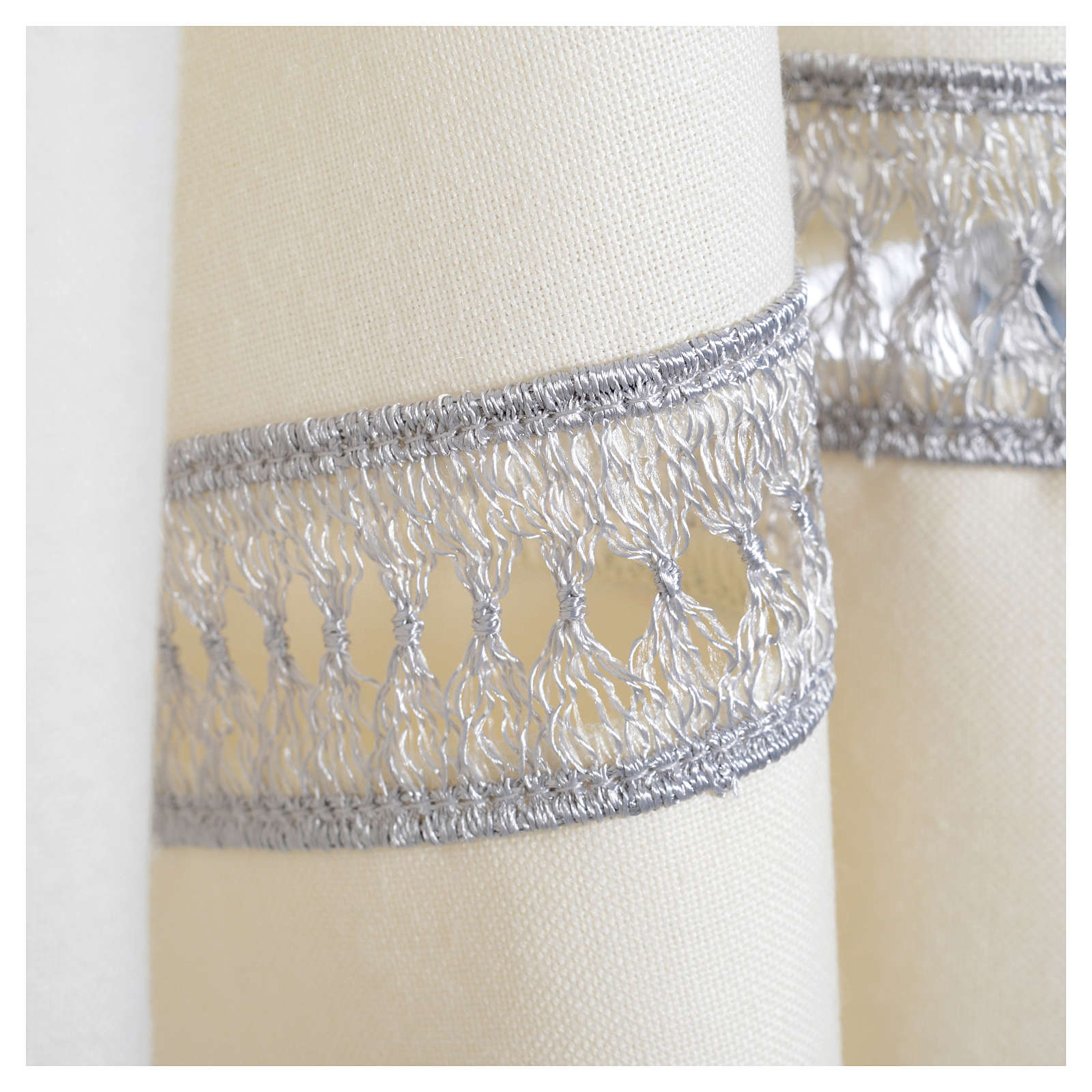Camice avorio 55% poliestere 45% lana gigliuccio cerniera spalla 4