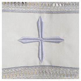 Camice avorio 55% poliestere 45% lana gigliuccio cerniera spalla s3