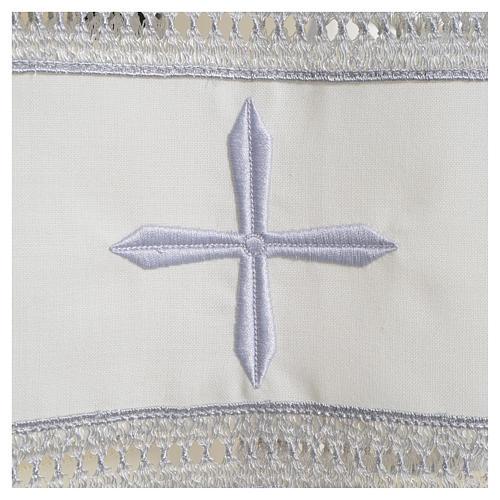 Camice avorio 55% poliestere 45% lana gigliuccio cerniera spalla 3