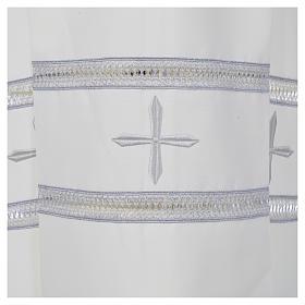 Camice avorio 100% poliestere gigliuccio cerniera spalla s5
