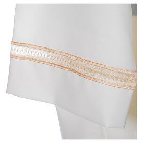 Camice avorio 55% pol. 45% lana gigliuccio cerniera spalla s4