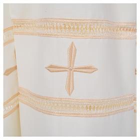 Camice avorio 55% pol. 45% lana gigliuccio cerniera spalla s5