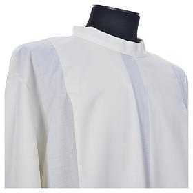 Camice avorio 55% pol. 45% lana gigliuccio cerniera spalla s7