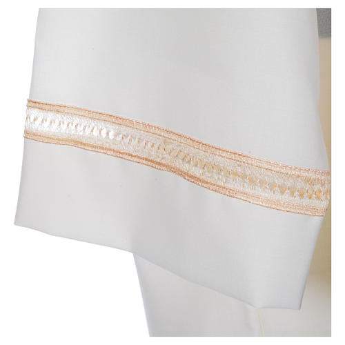 Camice avorio 55% pol. 45% lana gigliuccio cerniera spalla 4