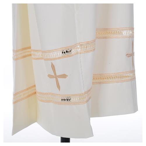 Camice avorio 55% pol. 45% lana gigliuccio cerniera spalla 6