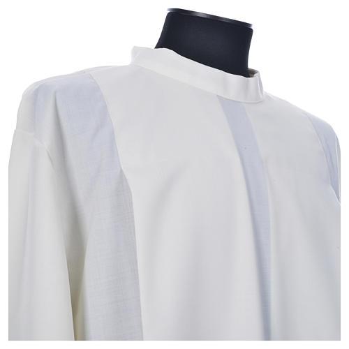 Camice avorio 55% pol. 45% lana gigliuccio cerniera spalla 7