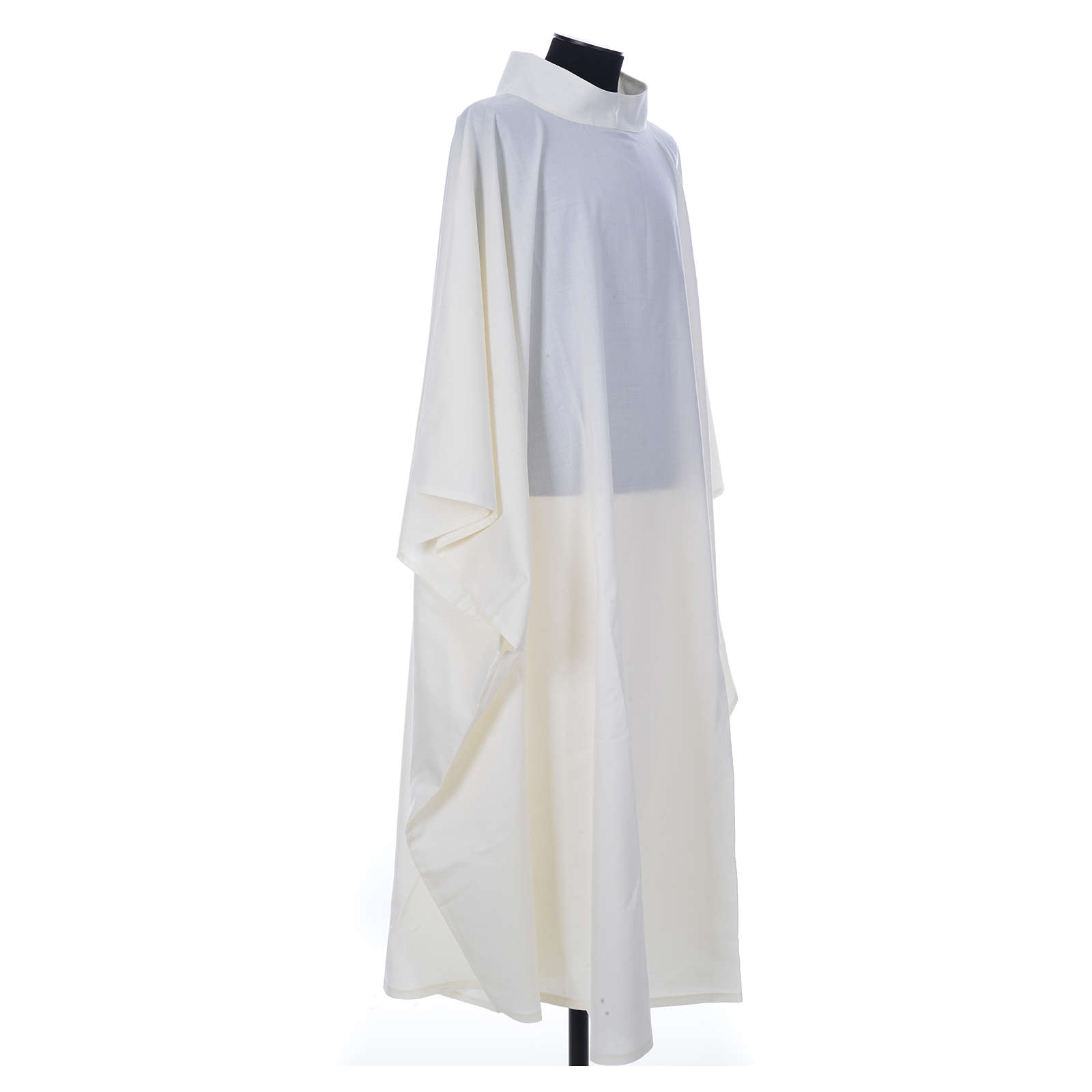 Aube chasuble ivoire 45% laine 55% polyester 4