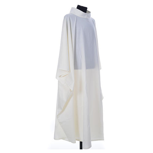 Aube chasuble ivoire 45% laine 55% polyester 3