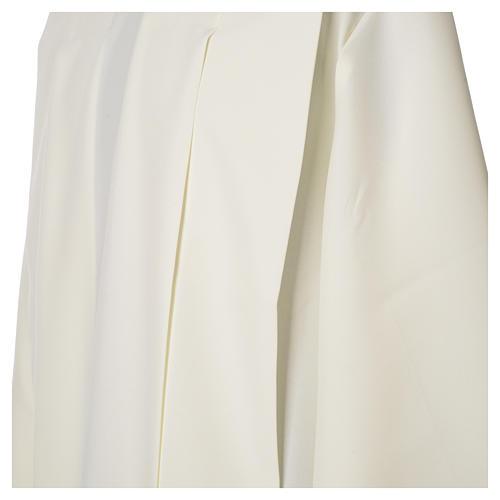 Camice avorio 100% poliestere spighe cerniera su spalla 6