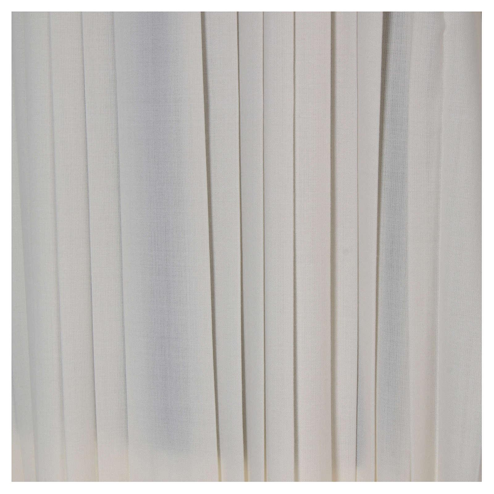 Liturgical alb, pleated 4
