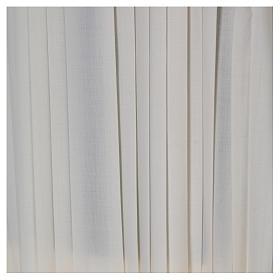 Liturgical alb, pleated s4
