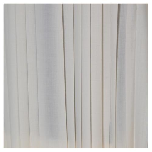 Camice plissettato lana 4