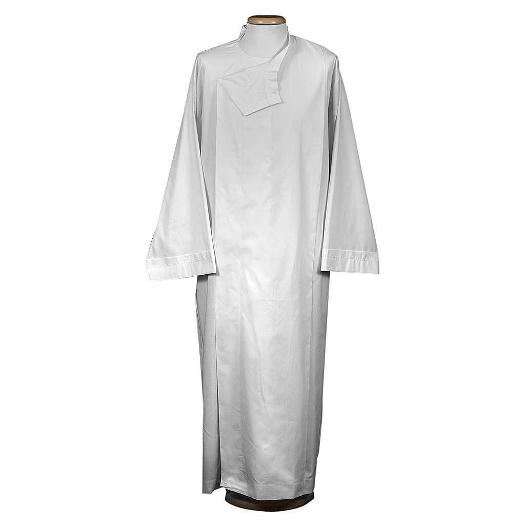 Liturgical alb with velcro  4