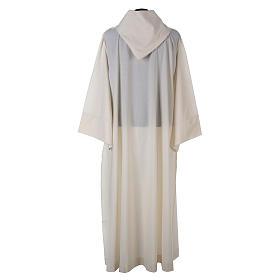 Aube laine polyester blanc capuche s3