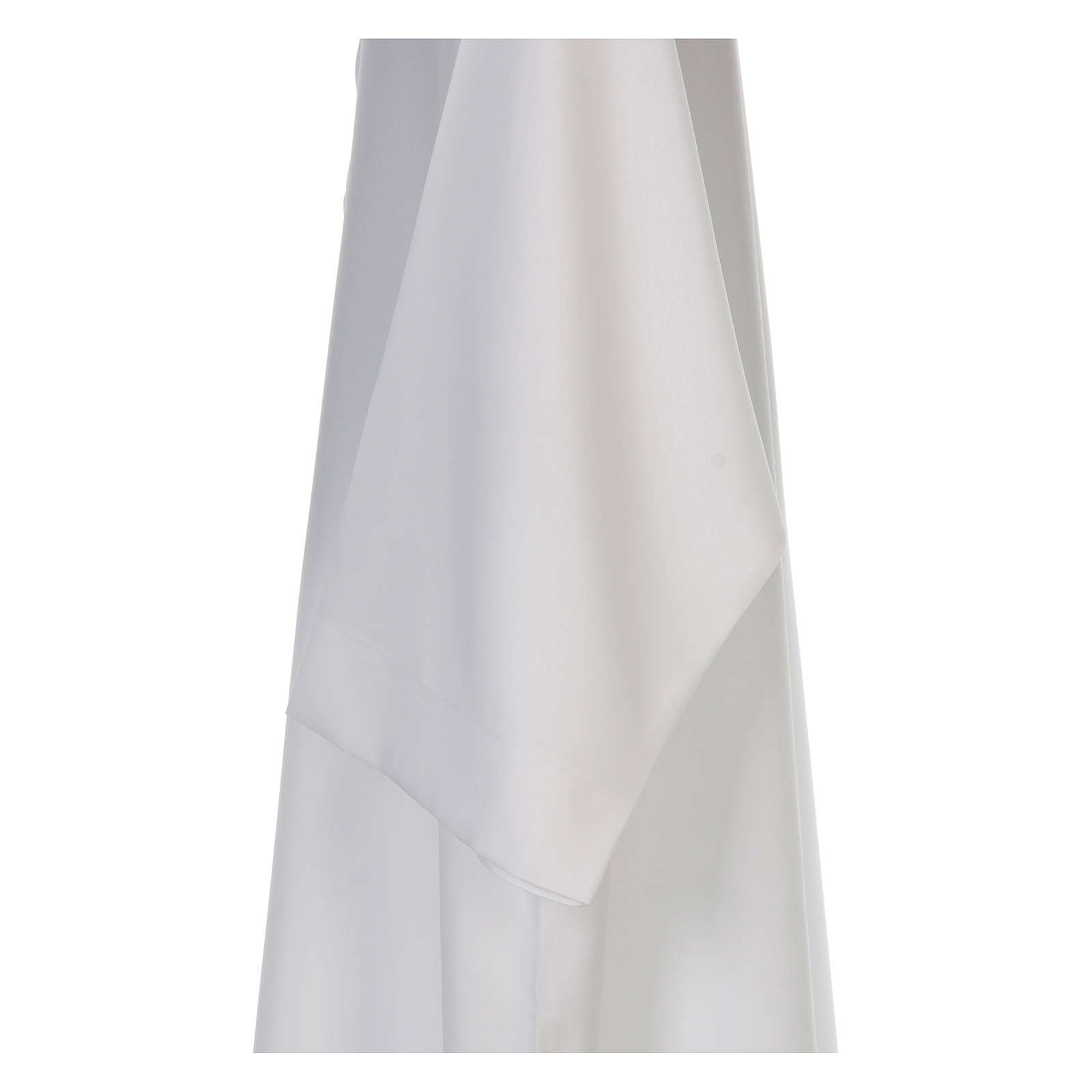 Clergy alb, flared with collar 100% polyester 4