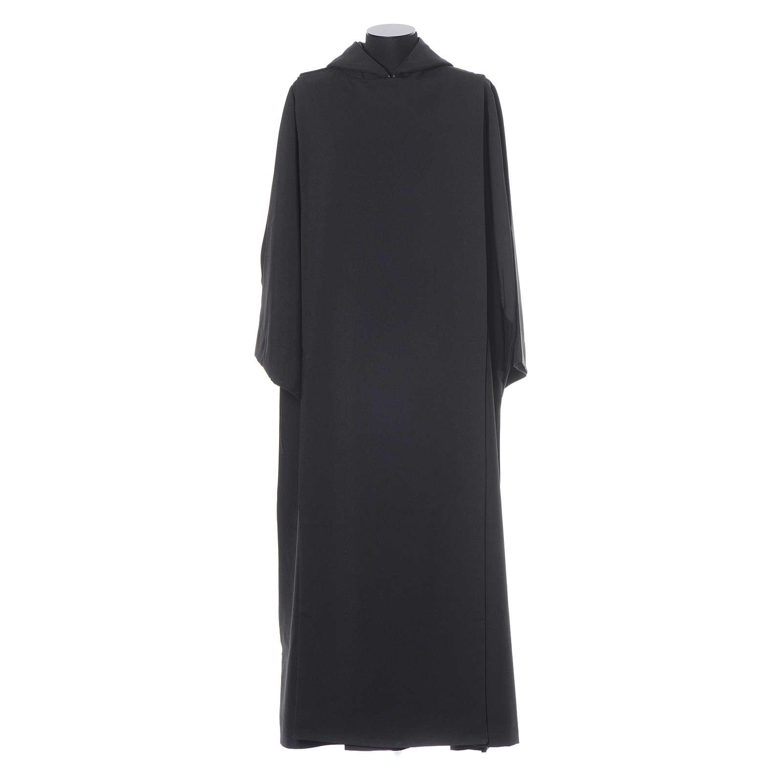 Benediktinische schwarze Albe aus Polyester 4