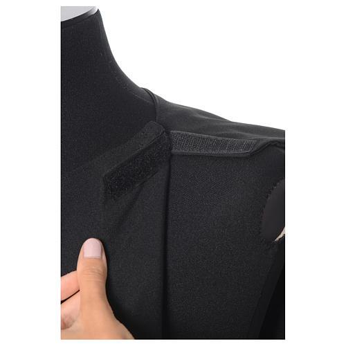 Benediktinische schwarze Albe aus Polyester 8