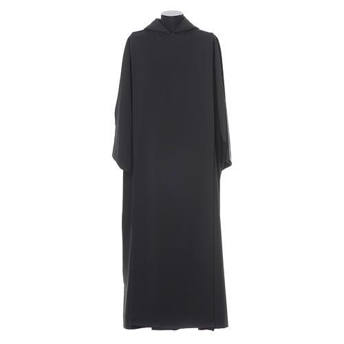 Aube bénédictine noire polyester 1