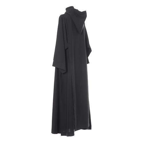 Aube bénédictine noire polyester 3