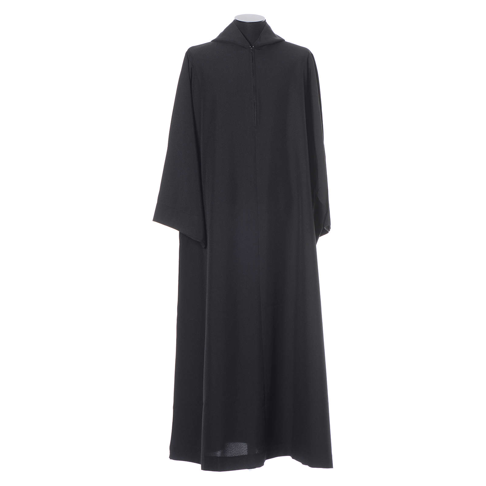 Black Alb Benedictine style in polyester 4