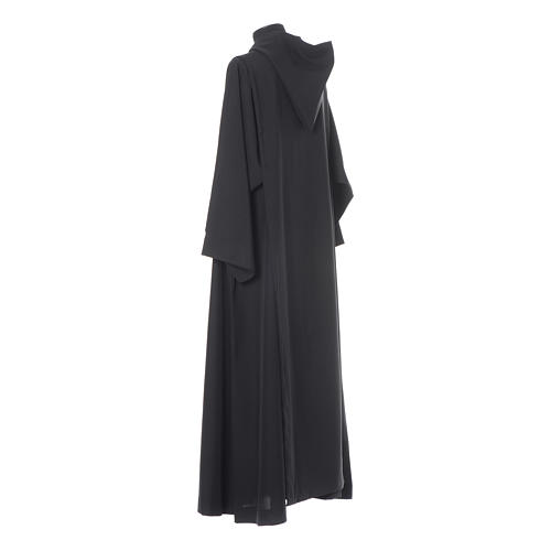 Black Alb Benedictine style in polyester 3
