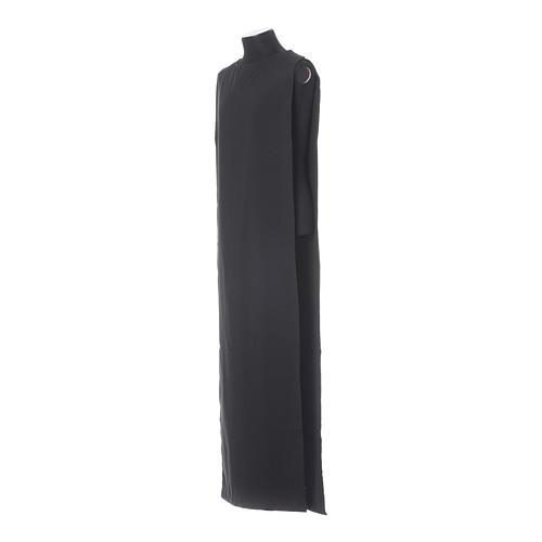Black Alb Benedictine style in polyester 7