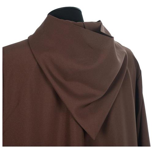 Aube franciscaine marron polyester 4