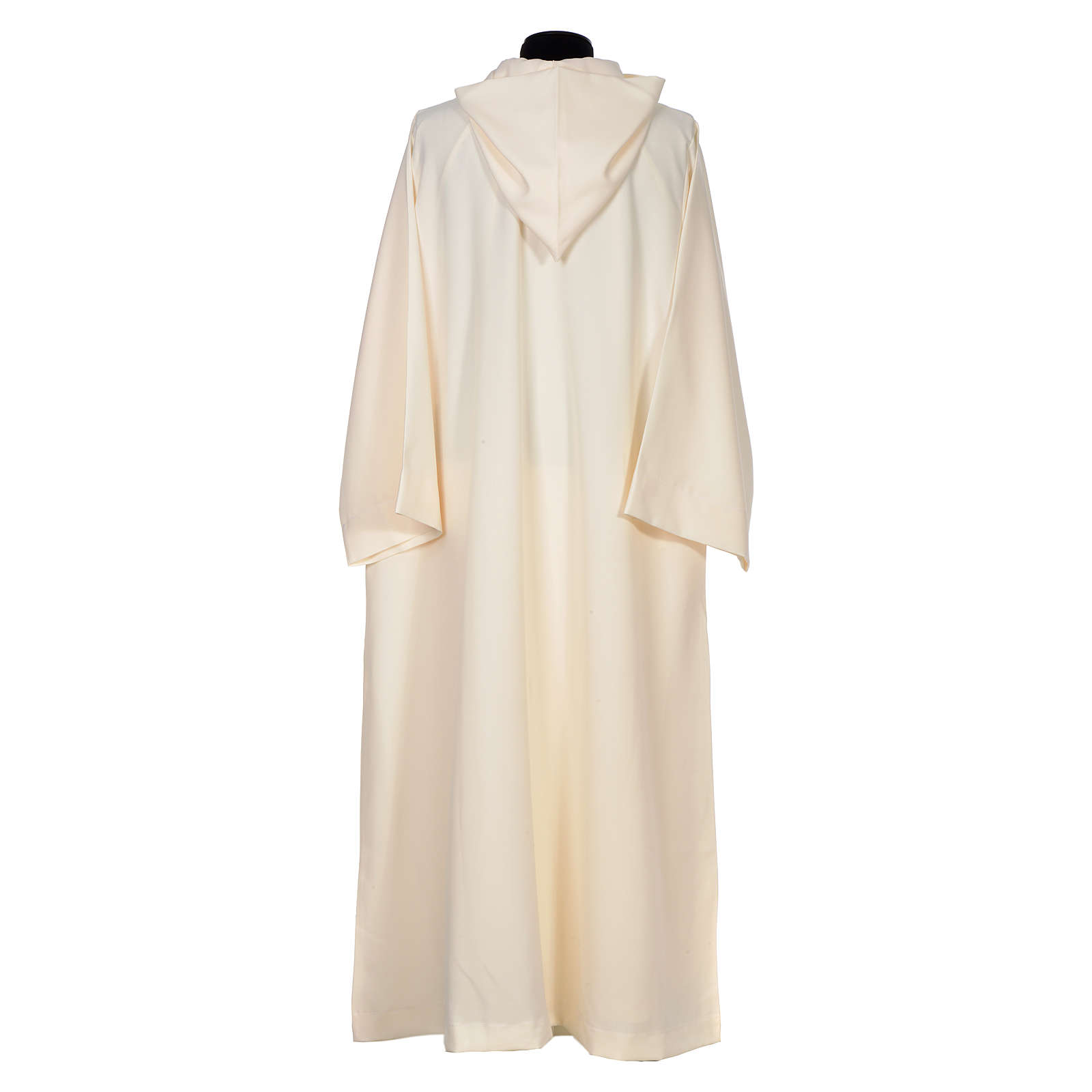 Surplice in polyester, flared with large hood 4