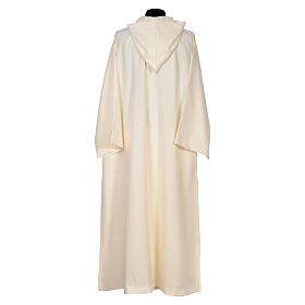 Surplice in polyester, flared with large hood s3