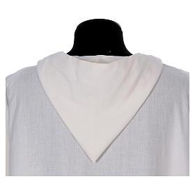 Monastic alb in linen s3