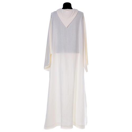 Monastic alb in linen 2