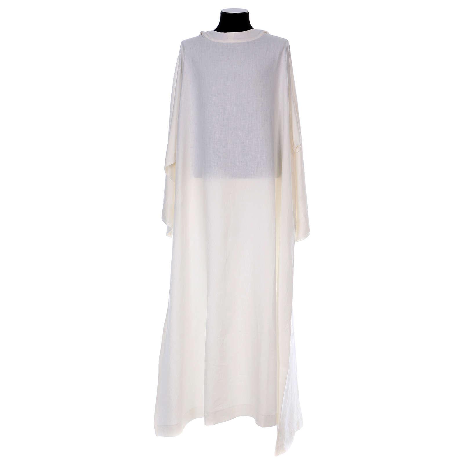 Alba monástica de hilo 4