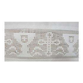 Camice misto cotone merletto croce calice s2